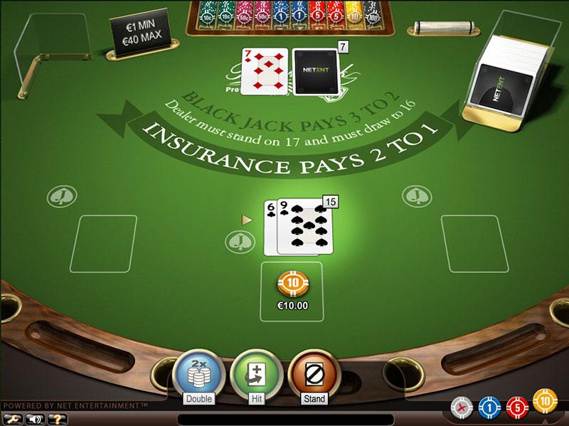 Juego de casino parecido al blackjack