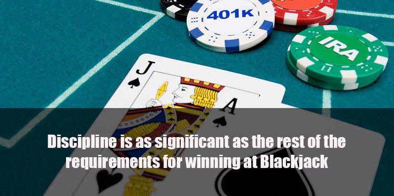 blackjack discipline