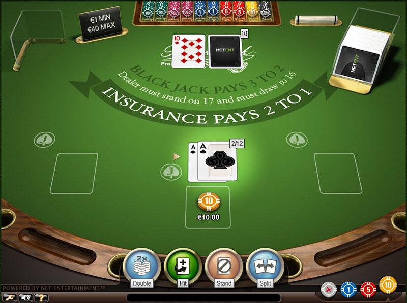 Blackjack split ace rules