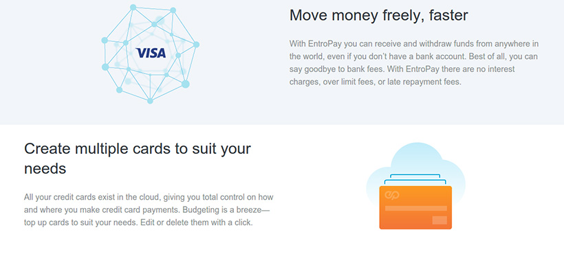 EntroPay Special Features