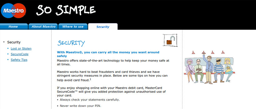 maestro card online casino