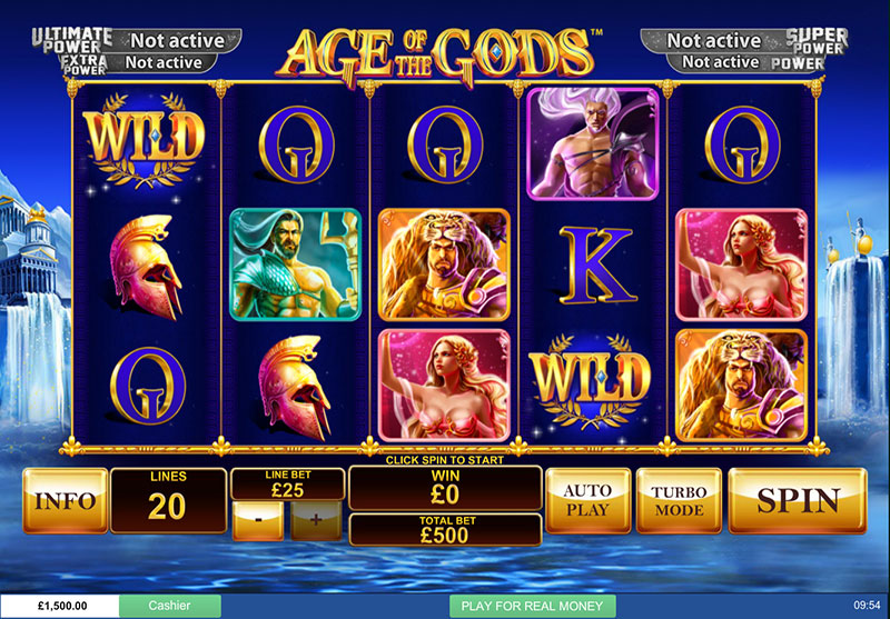 Play Age of Gods Slot at Casino.com UK