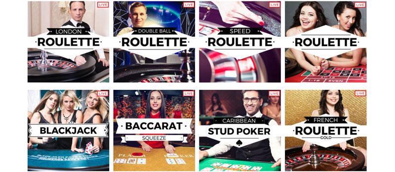 32red casino live screenshot