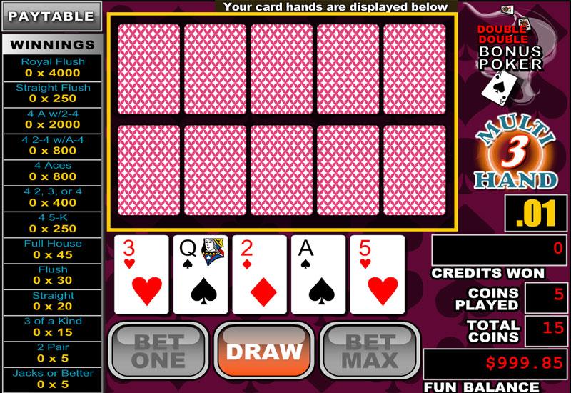 Double Double Bonus Poker screenshot