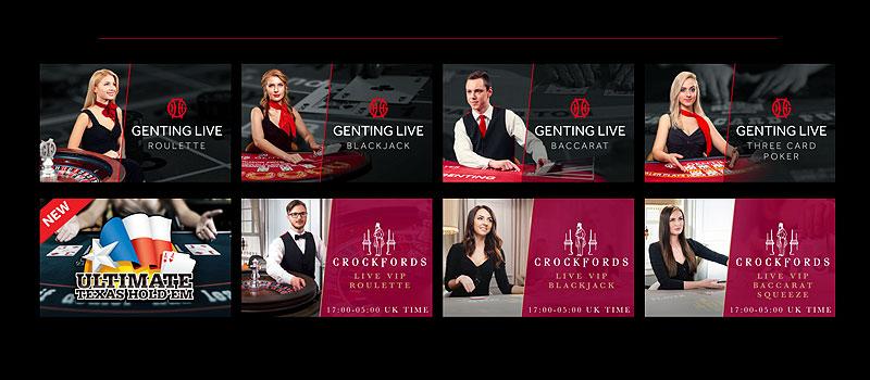 Genting Casino screenshot