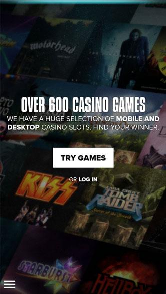 kaboo casino app screenshot