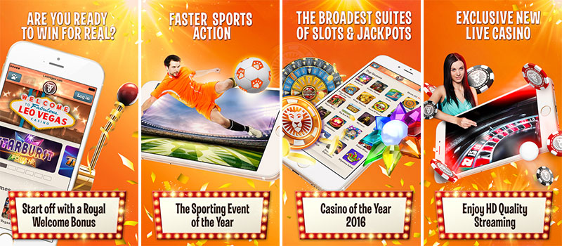 leovegas casino app features