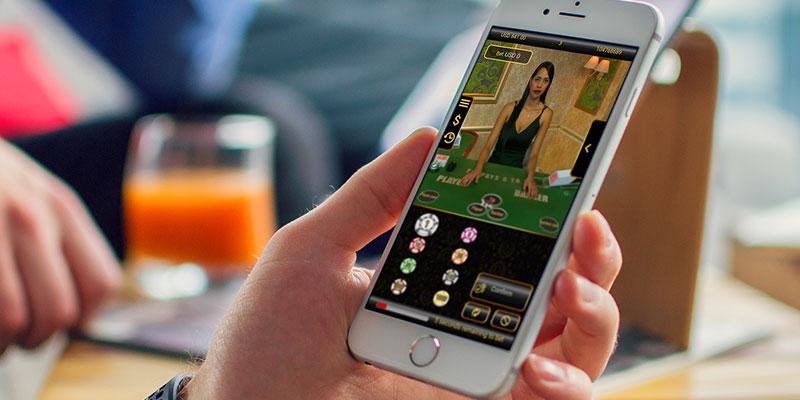 Mobile Casino Live Photo