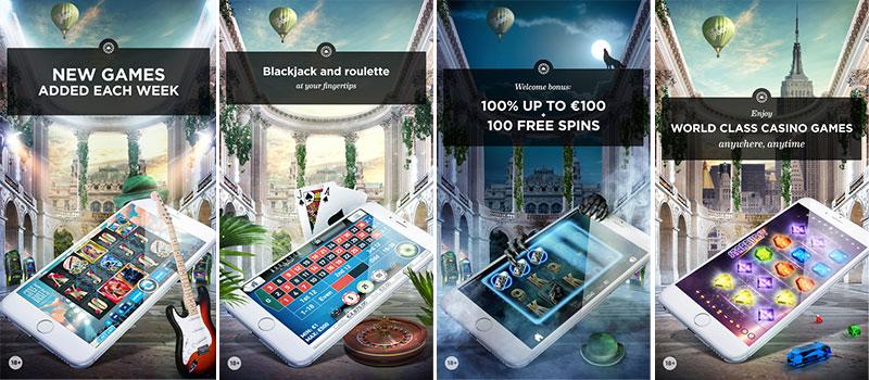 Mr green casino app background