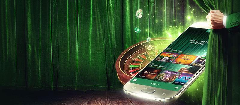 mr green casino app