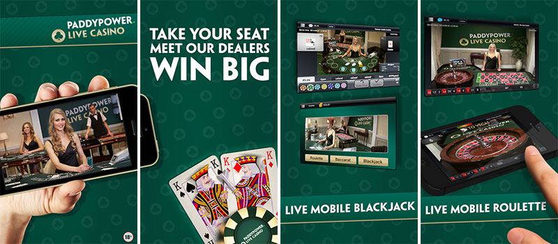 paddy power casino app live dealer