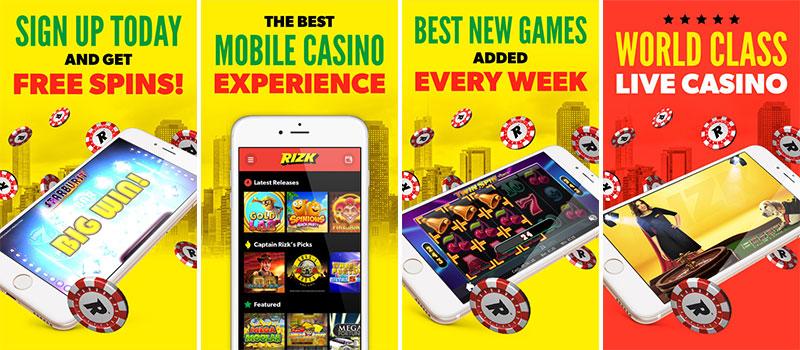 rizk casino app features