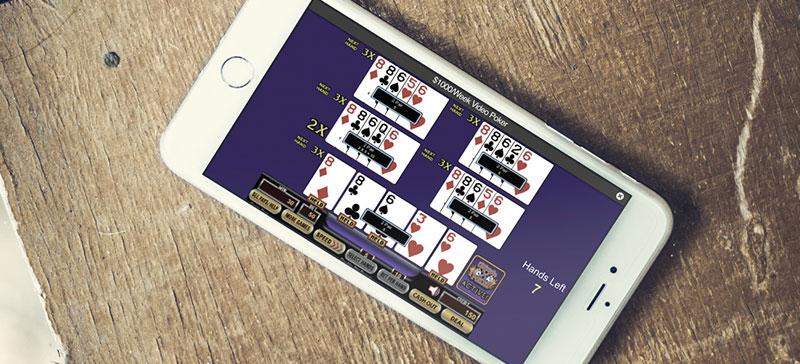 video poker iphone