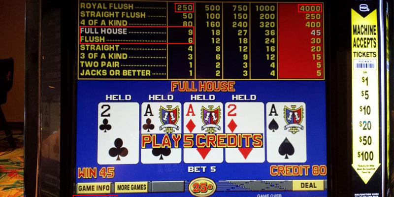 Video Poker Full House
