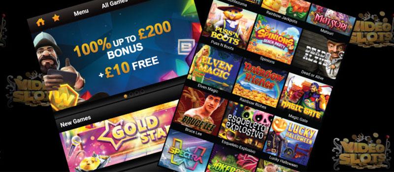 videoslots casino app