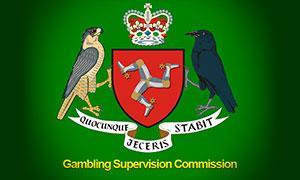 Логотип Комиссии по надзору за азартными играми на острове Мэн
