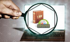 online legal casinos graphic
