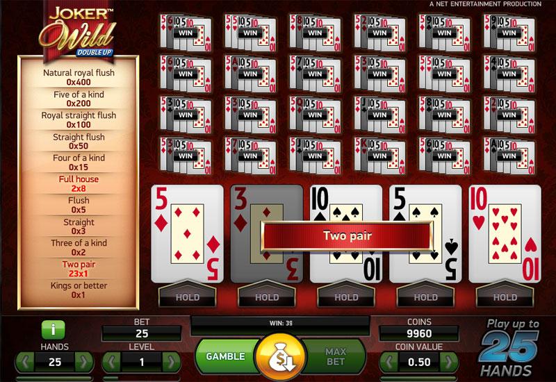 Joker Wild screenshot