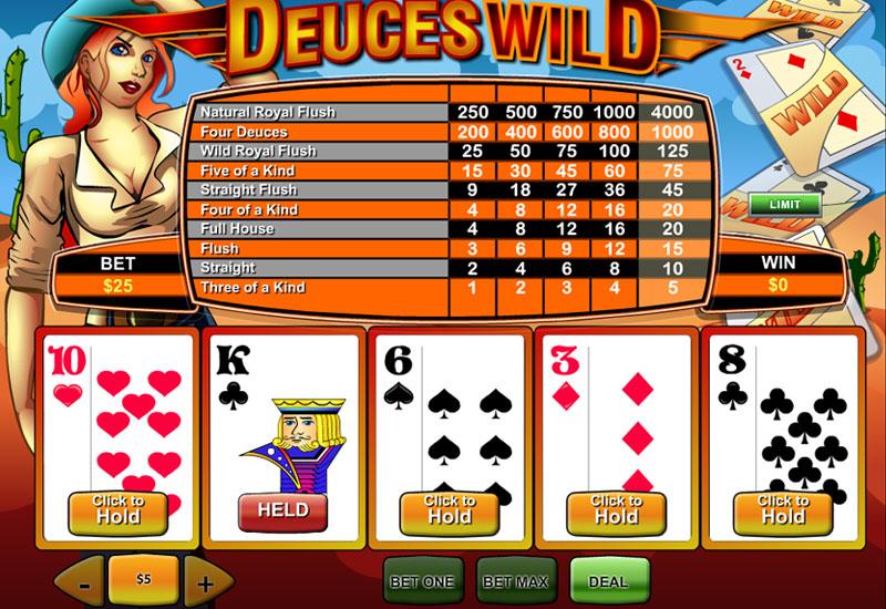 Deuces Wild screenshot