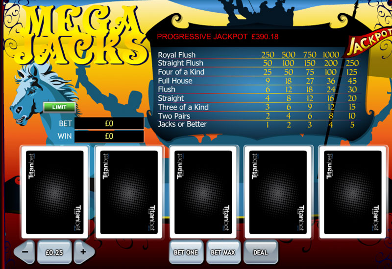 mega jacks screenshot