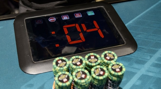 WPT Main Tour Events Adopt the Action Clock to Make the Game More Fun