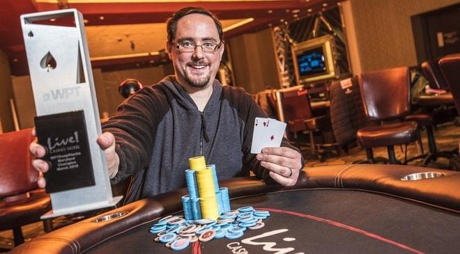 Jason Eisele Takes Down WPTDeepStacks Maryland Main Event for $108,921