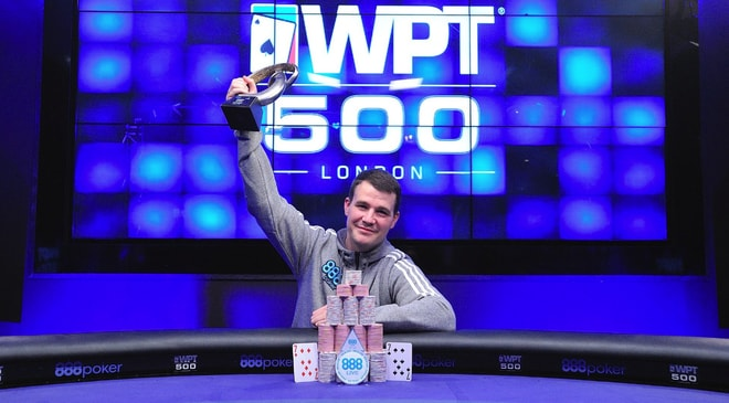 Gary Miller Emerges Victorious from 888poker WPT500 London Winning £114,000