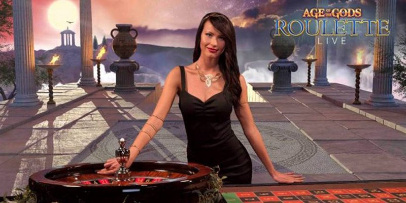 Live version of Age of the Gods Roulette