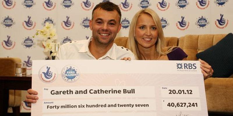 Gareth dan Catherine Bull